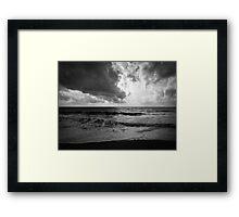 Moody Sea Framed Print