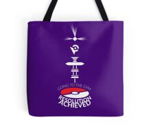 Resolution Achieved Tote Bag