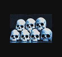 Skulls in blue Unisex T-Shirt