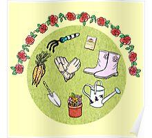 The Gardening Devotee Poster