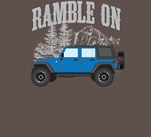 RAMBLE ON (blue) Classic T-Shirt