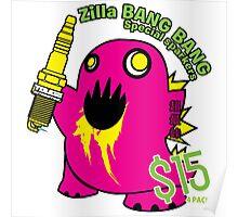 ZILLA BANG BANG! Poster
