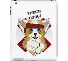 Tough Corgi, Ready for Battle! iPad Case/Skin
