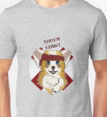 Tough Corgi, Ready for Battle! Unisex T-Shirt