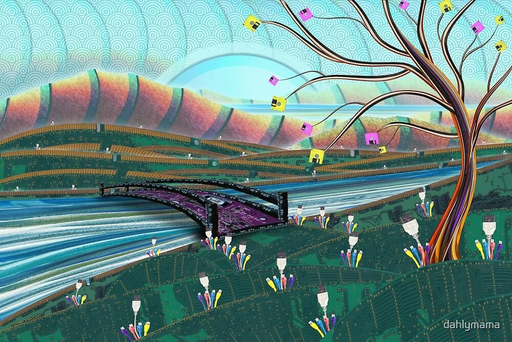Technoscape by Shawna Rowe