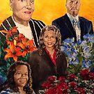 Mother and her Children by Jennifer Ingram