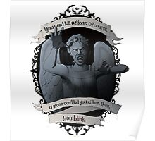 Weeping Angel - Doctor Who Poster