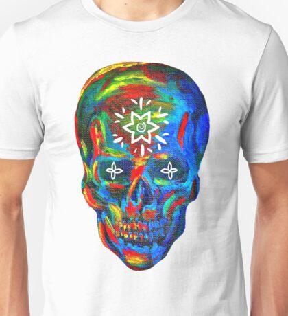 Rainbow Skull Unisex T-Shirt