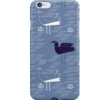Seagulls and waves  iPhone Case/Skin