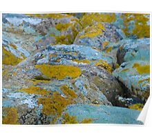Colourful rocks Poster