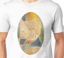 Abstract Grunge Patchwork Unisex T-Shirt
