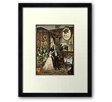 I know what you need Framed Print