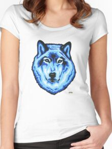 Blue Wolf Women's Fitted Scoop T-Shirt