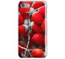 Manila Palm Red iPhone Case/Skin