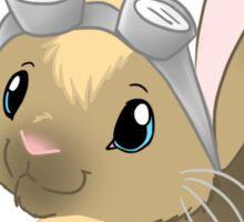 Goggle Bunny Sticker