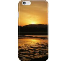 Sunset at Minneriya National Park Sri Lanka iPhone Case/Skin