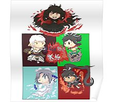 Senran Kagura Chibi Collection Poster