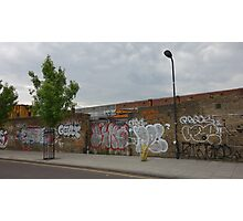 Graffiti Wall Photographic Print