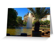 Baden-Baden Beauty, Germany Greeting Card