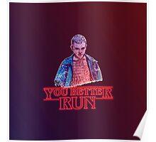 You Better Run! Poster