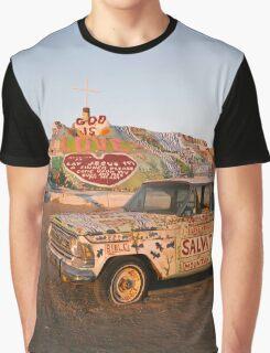 Salvation Mountain California Graphic T-Shirt