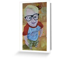 Oh, That Face Greeting Card