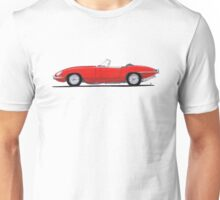 Jaguar E-Type (red) Unisex T-Shirt