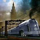 Mercury Train by Steven  Agius