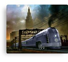 Mercury Train Canvas Print