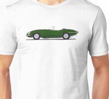 Jaguar E-type (brg) Unisex T-Shirt
