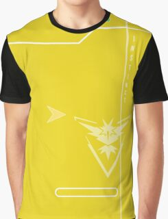 Yellow Instinct Pokedex Graphic T-Shirt