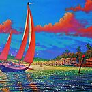 Moonlight Harbor by jyruff