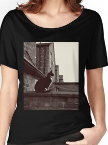 Corrie Cat! Women's Relaxed Fit T-Shirt