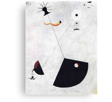 In the style of Miro Canvas Print