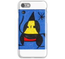 In the style of Miro - Dancing iPhone Case/Skin