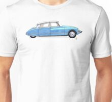Citroen DS bleu Unisex T-Shirt
