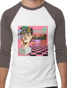 Macintosh Plus Jotaro Men's Baseball ¾ T-Shirt