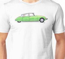Citroen DS Chartreuse Unisex T-Shirt