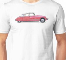 Citroen DS Rouge Unisex T-Shirt