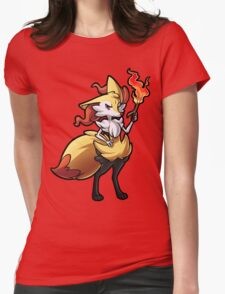 Braixen Womens Fitted T-Shirt