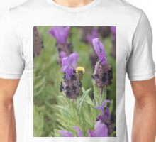 Lavender and Bee Unisex T-Shirt