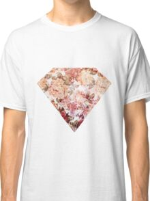Floral Diamond Classic T-Shirt