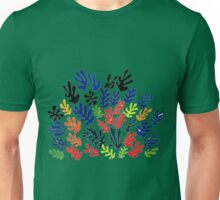 In the style of Matisse flowers 2 Unisex T-Shirt