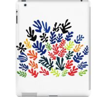 In the style of Matisse flowers 2 iPad Case/Skin