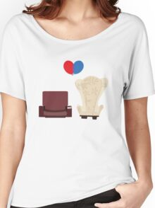 u p Women's Relaxed Fit T-Shirt