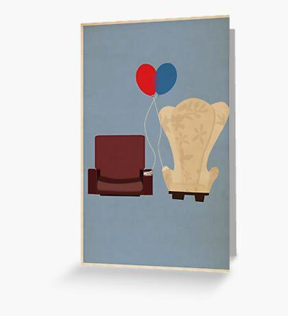 u p Greeting Card