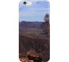 After the Bushfires in The Warrumbungle Nation Park iPhone Case/Skin