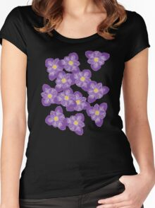 There'll Be Crocuses Women's Fitted Scoop T-Shirt