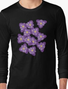 There'll Be Crocuses Long Sleeve T-Shirt
