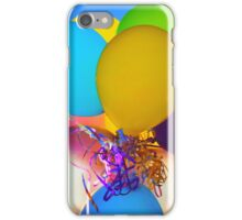Party balloons iPhone Case/Skin